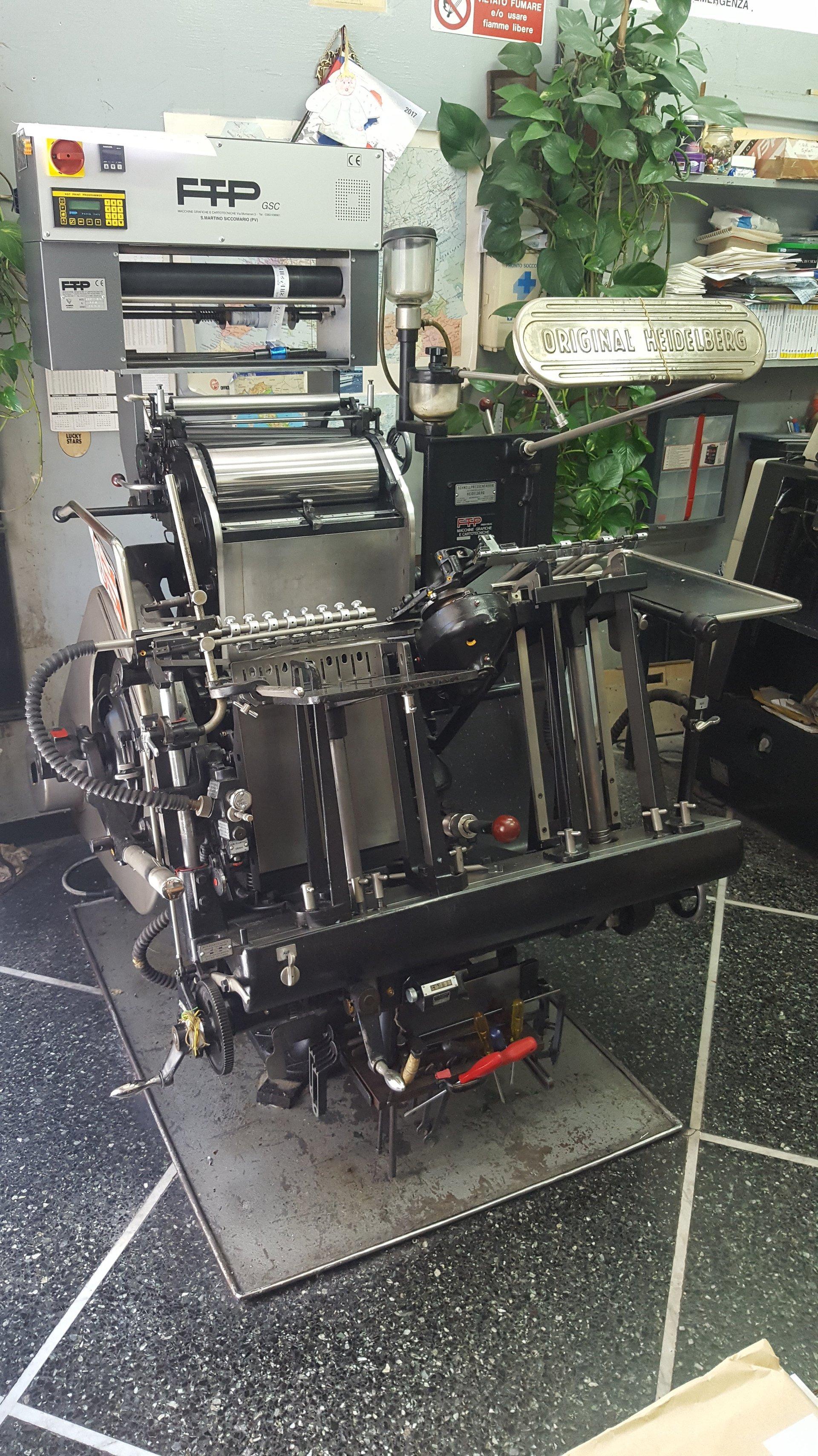 macchinari tipografia