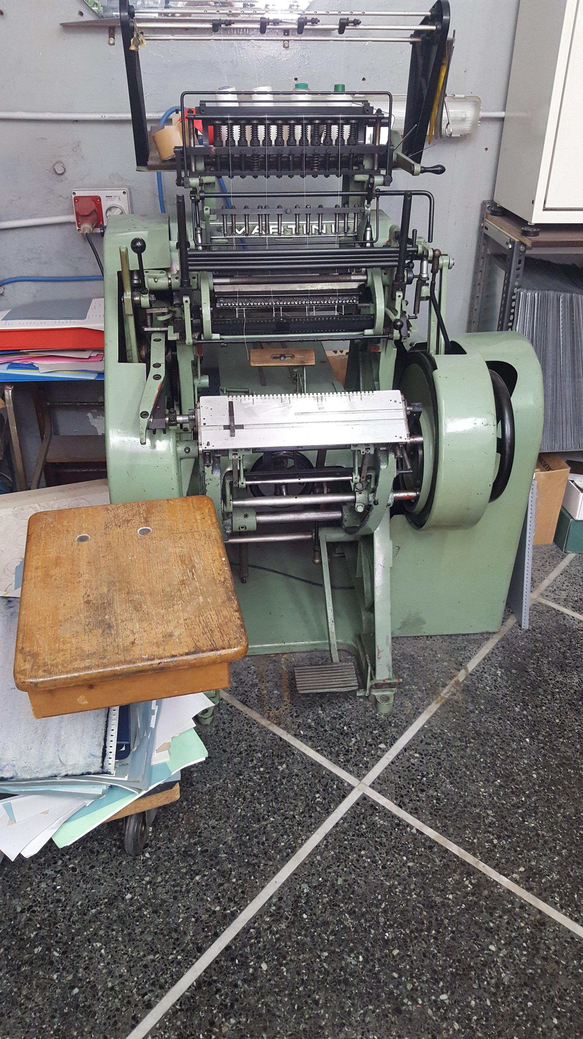 macchinario tipografia