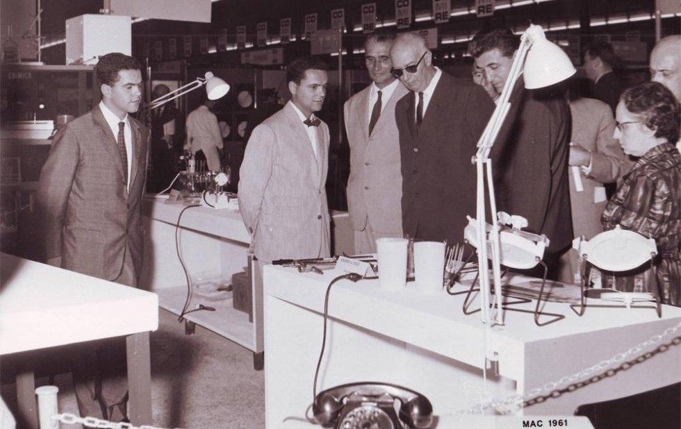 Foto storica esposizione Sessantuno