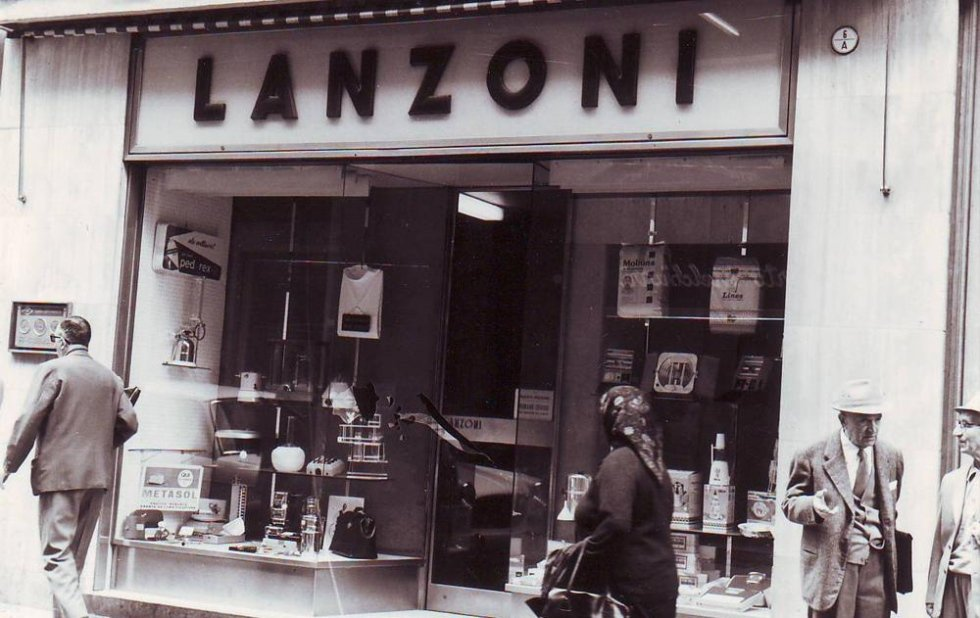 Foto storica negozio