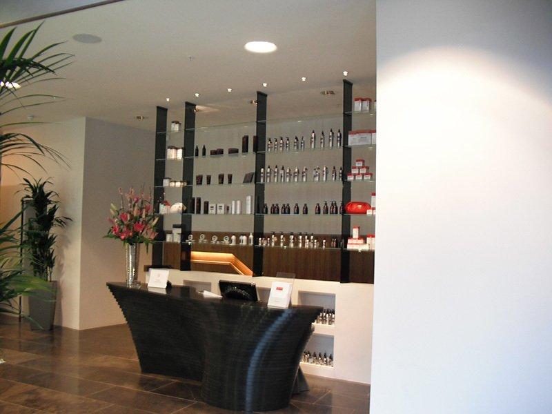 glass shop shelves