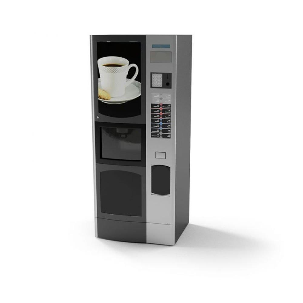 una macchinetta del caffè' e delle casse acustiche