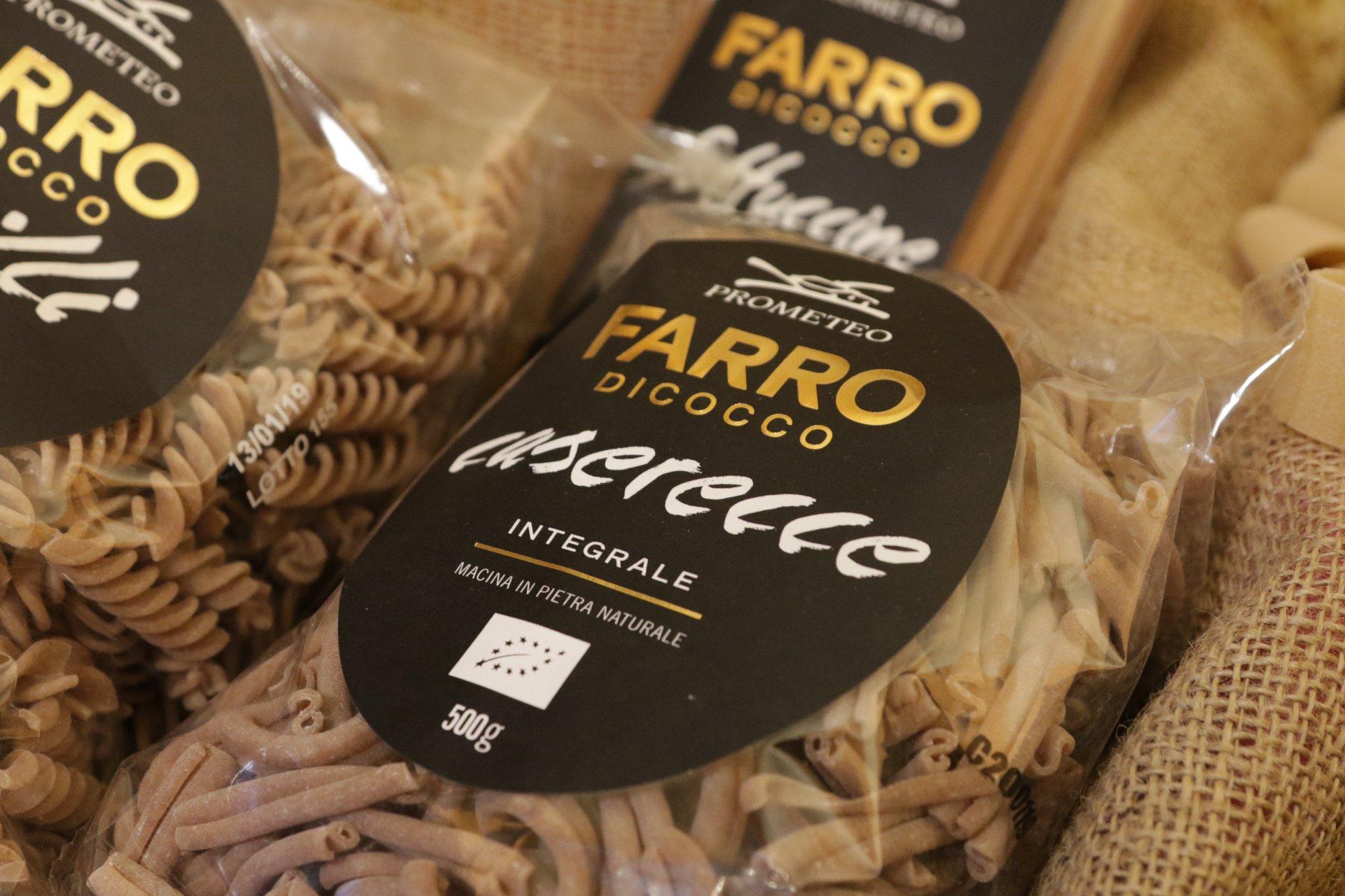 confezione di Farro Dicocco pasta