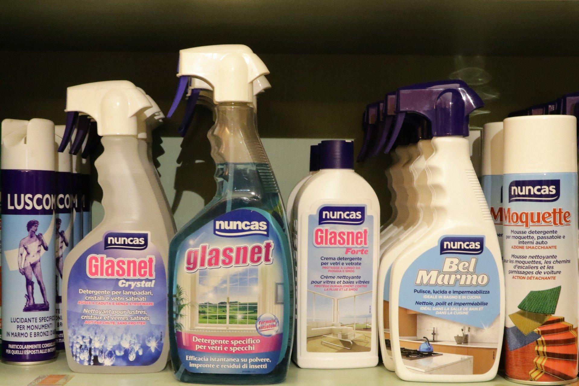 prodotti a marchio Nuncas Glasnet
