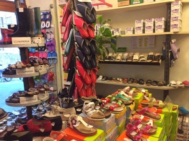 Sandali bambini, Calzature Fiorini, Siena.
