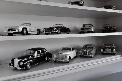 modellini di auto d'epoca