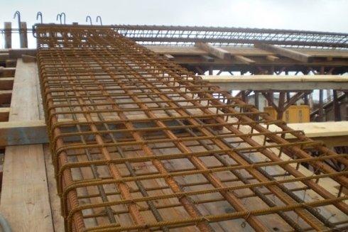 Scheletro per tetto.