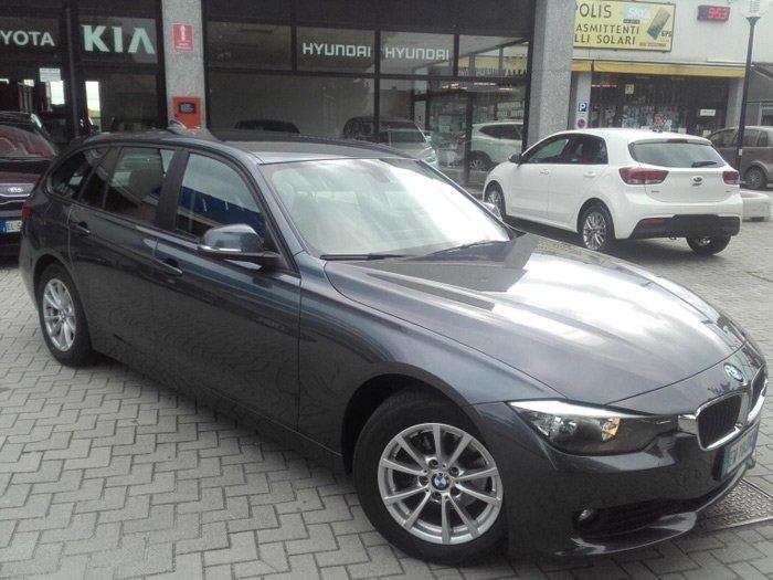 BMW 316 Serie 3 Touring Aut. grigia