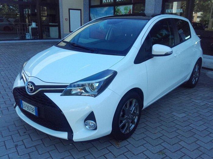 Toyota Yaris 1.3 Style Multidrive S bianca