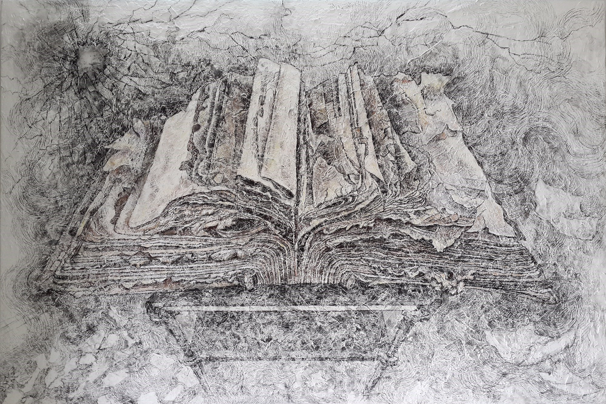 sketch of a book