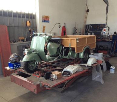 carrozzeria riparazione vespa