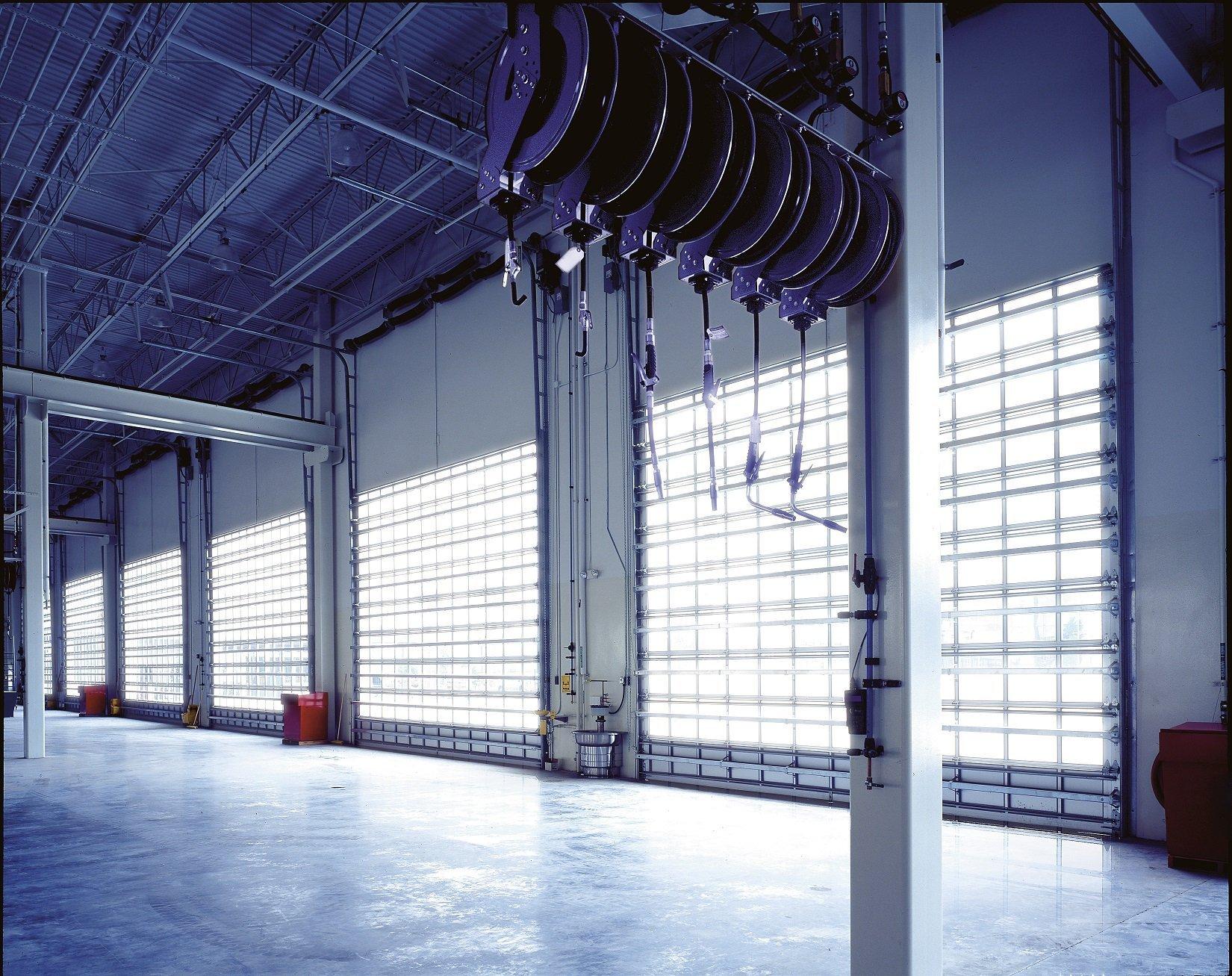 Commercial Aluminum Garage Doors Milwaukee Waukesha