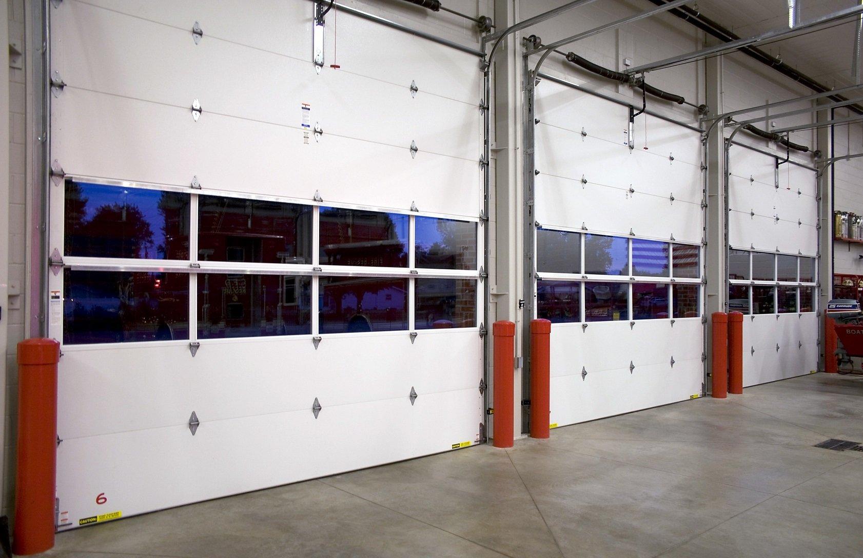 full view garage doorCommercial Aluminum Garage Doors Milwaukee Waukesha West Bend