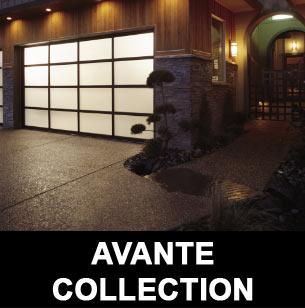 Avante Garage Door Collection
