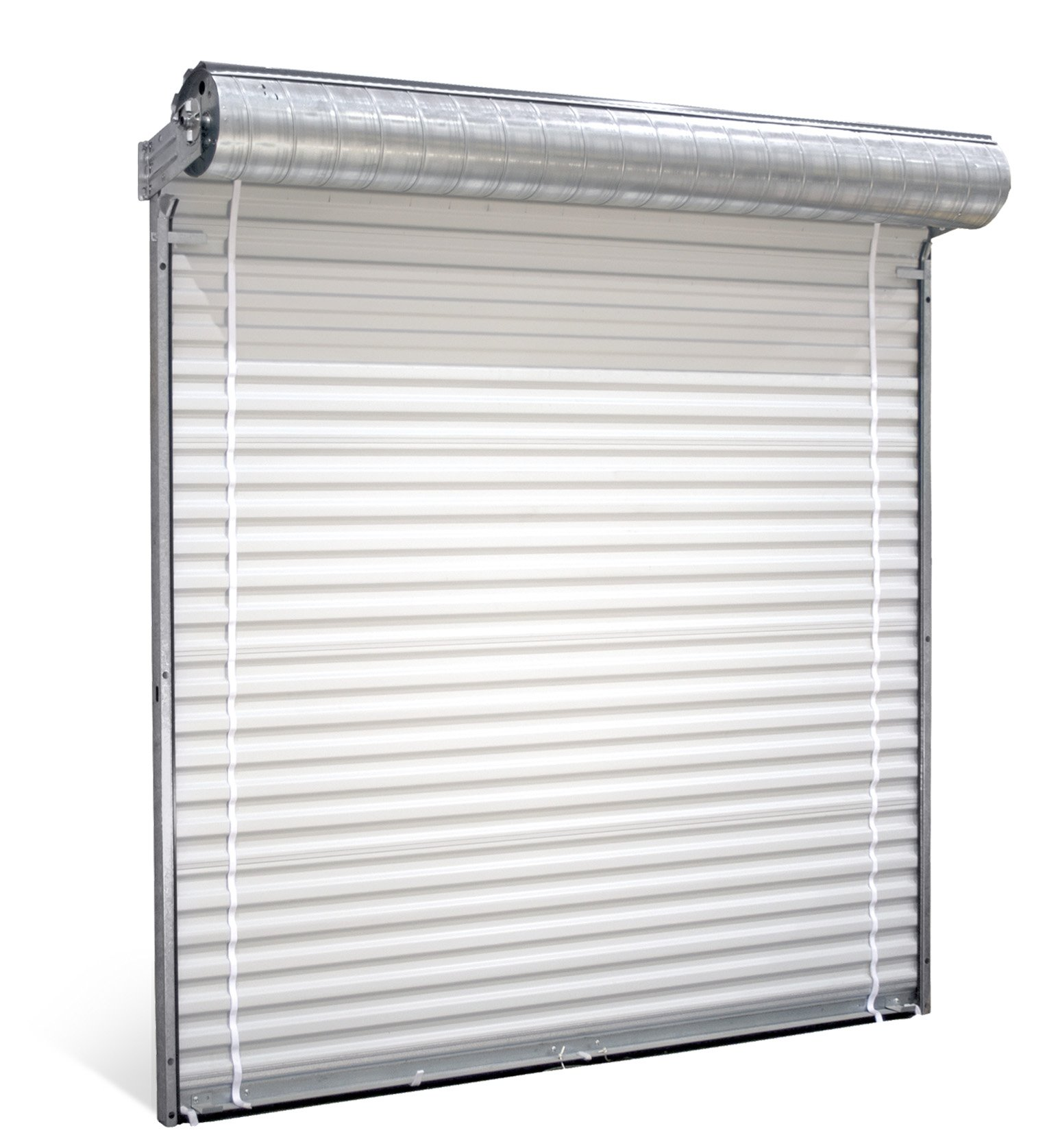 Commercial coilng rolling steel garage doors milwaukee for Roll up screen door for garage