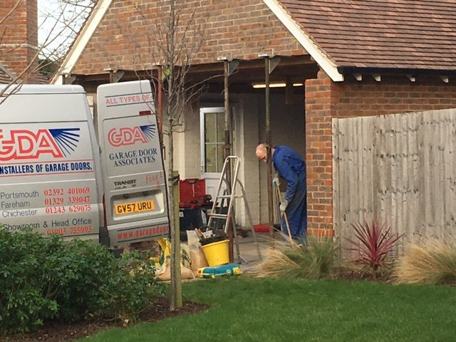 Garage Alterations For Existing Doors In Lancing
