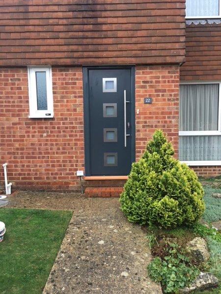 Hormann entrance door