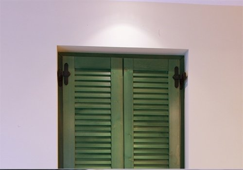 persiana verde