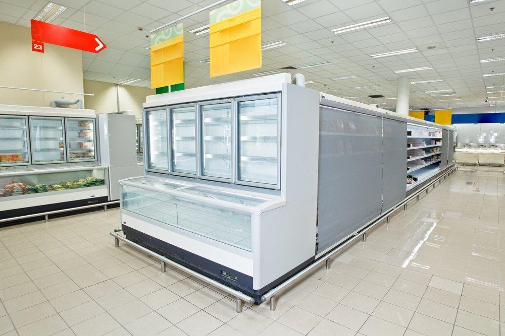banchi frigo supermercato