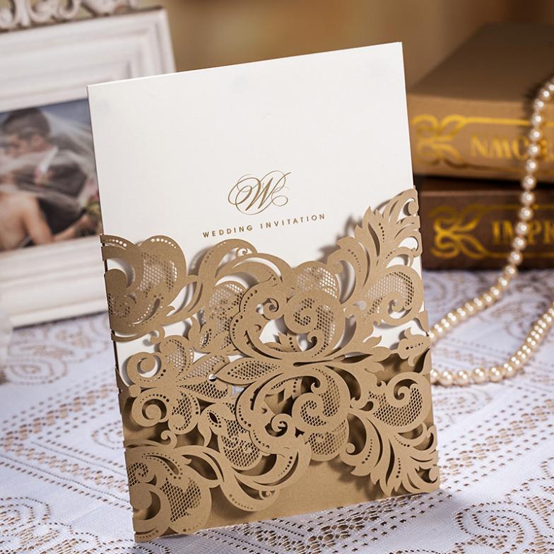 cheap laser cut wedding invitations. good budget wedding, Wedding invitations