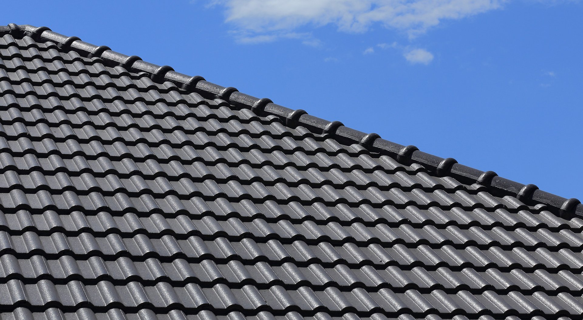 grey stoned roof tiles