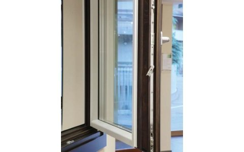 Climatop legno/alluminio tonda