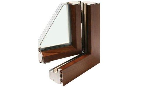 Climatop legno/alluminio quadrata
