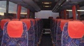 trasporto passeggeri con autobus