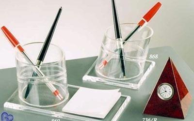 portapenne in plexiglass