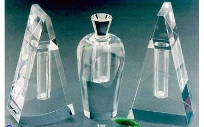 bottiglie piccole in plexiglass