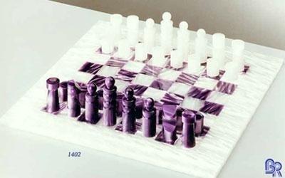 scacchiera in plexiglass colorato