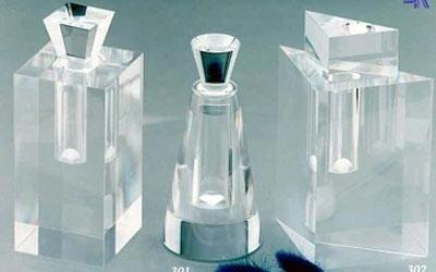 bottiglie trasparenti