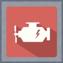 icona per lubrificante auto