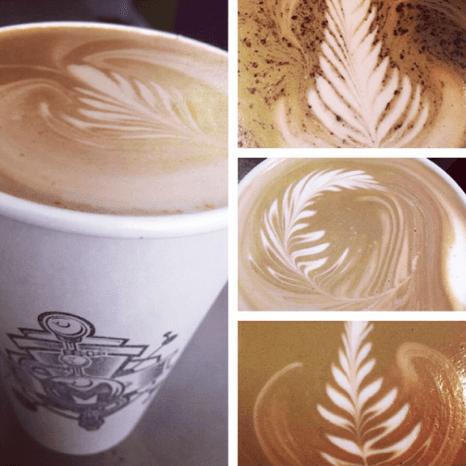 Latte at The Molecule Effect