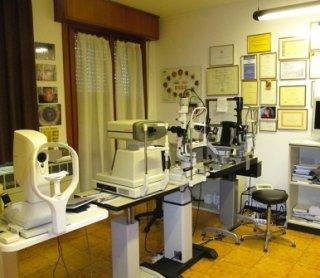 autorefrattometria oculare, biometria oculare, esame della retina