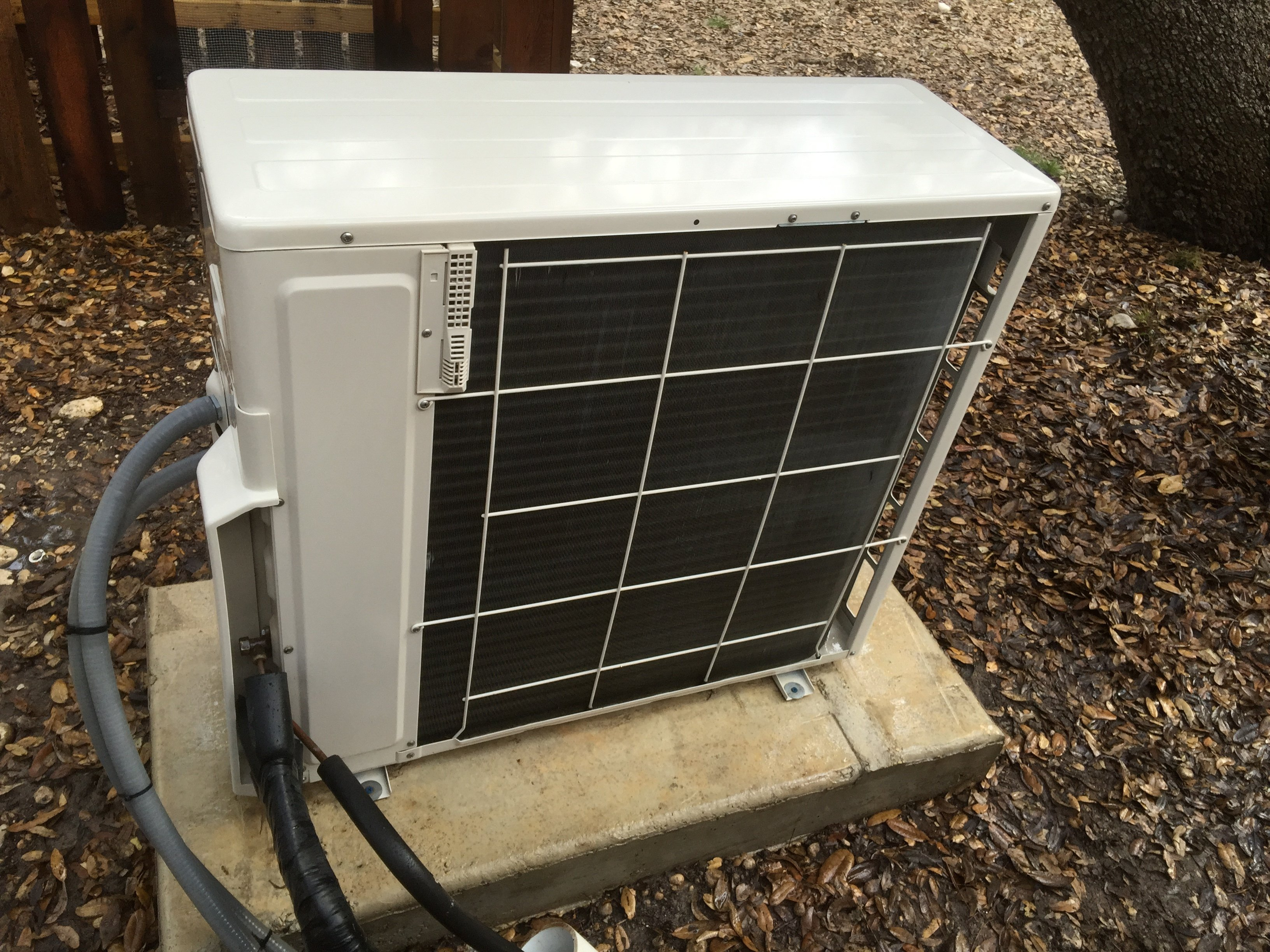 AC Unit After Maintenance Service & Cleaning, San Antonio TX