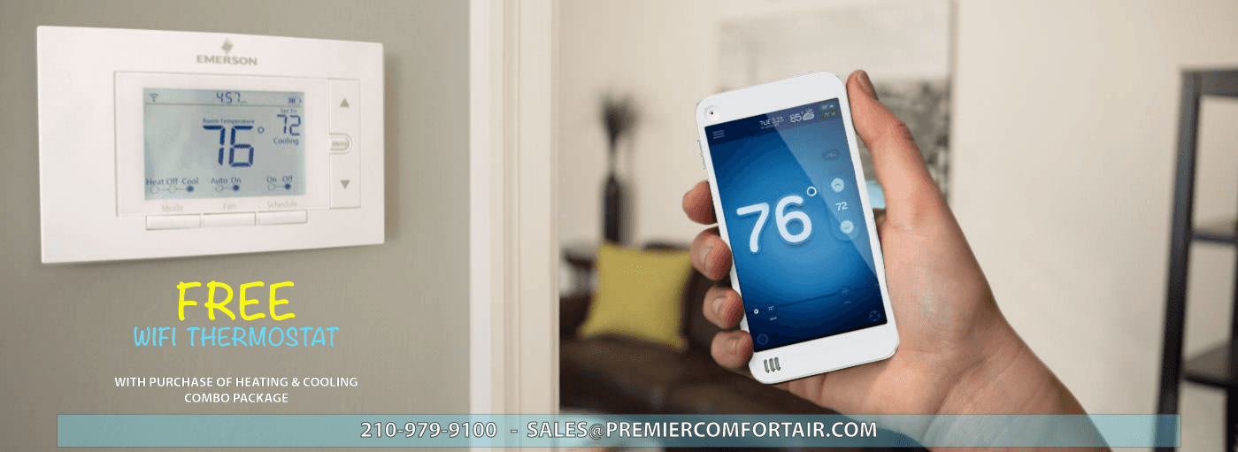 Remote Control for Residential Heating & Cooling, San Antonio TX