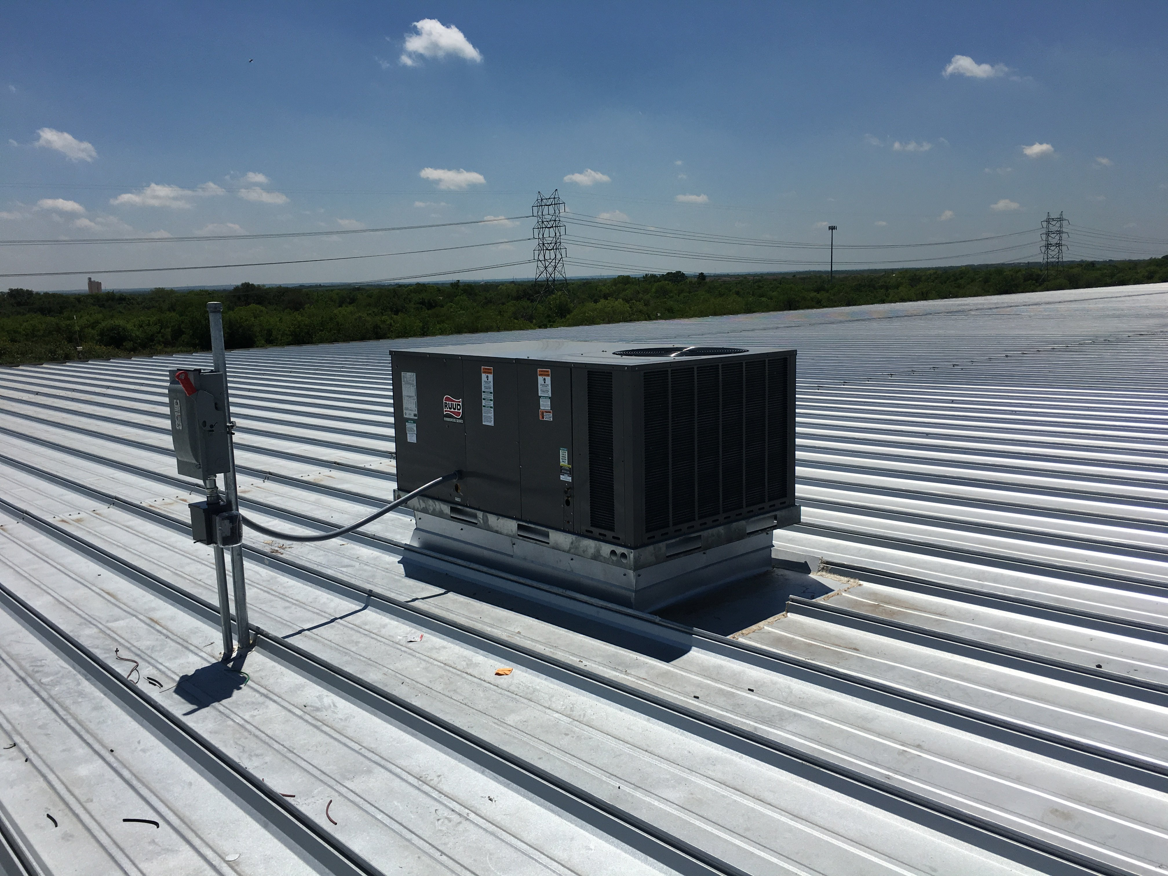 Rooftop Commercial AC Unit, San Antonio TX