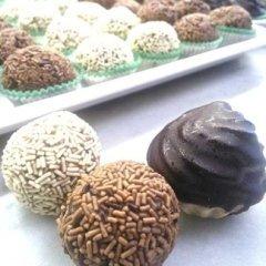 riccioli e tartufi al cioccolato
