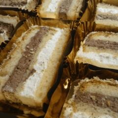 tranci di torta sacripantina