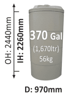 1670-Litre-Round-Poly-Water-Tank-QLD