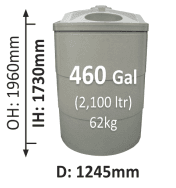 2100-Litre-Round-Poly-Water-Tank-QLD