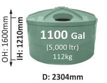 5000-Litre-Squat-Round-Poly-Water-Tank-QLD