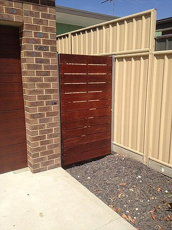 critos construction and rigging pty ltd wooden fence and door