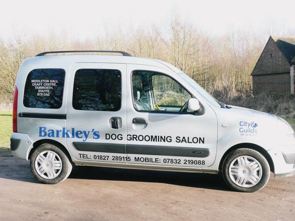 Barkley's van