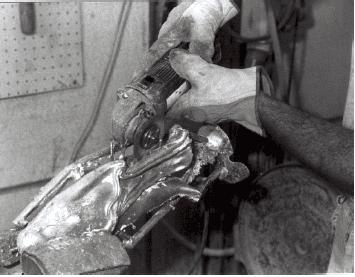 immagine in bianco e nero di una rifinitura
