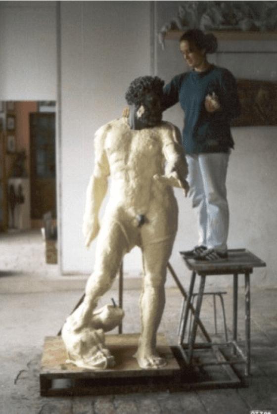 riproduzione del Michelangelo