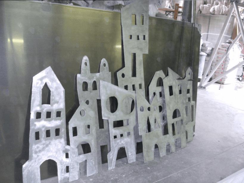 rappresentazioni in alluminio