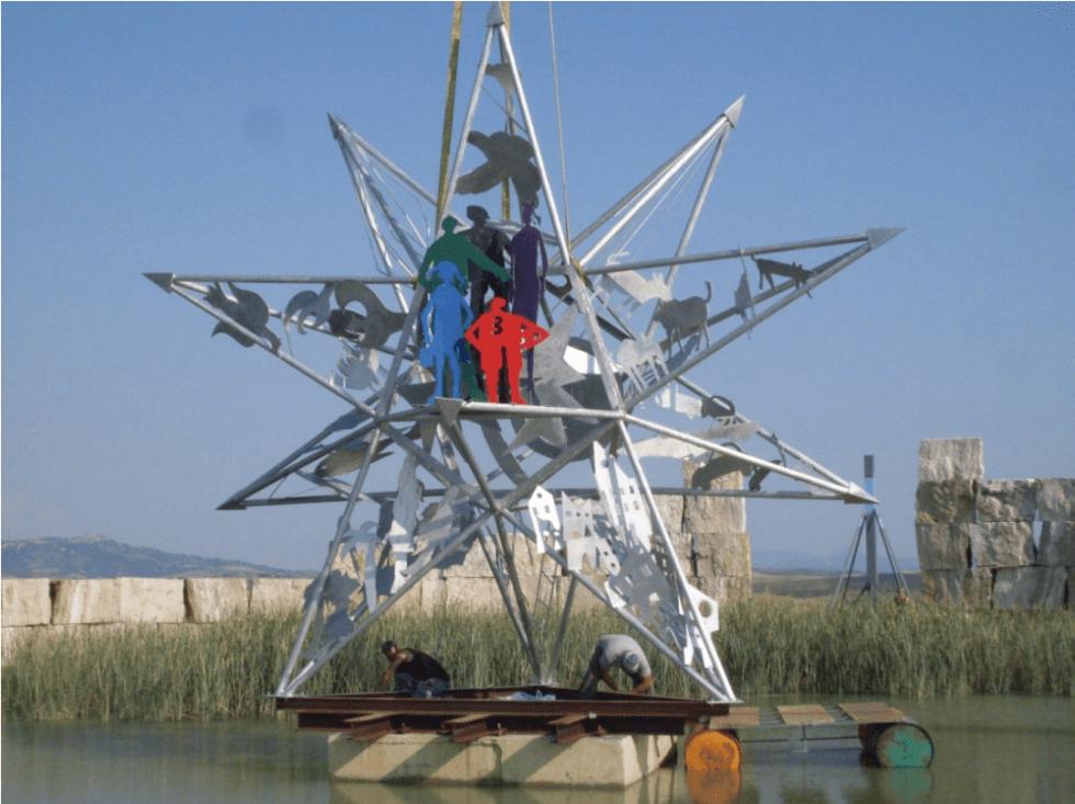 sculture in alluminio