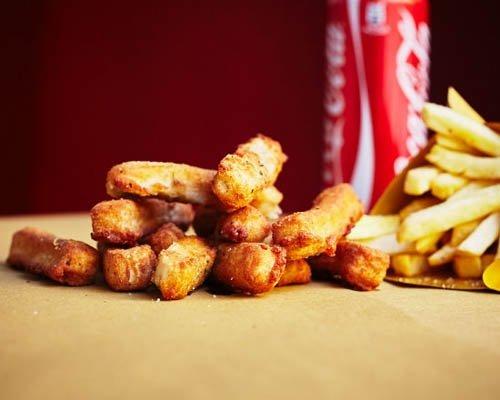 fritti e coca cola